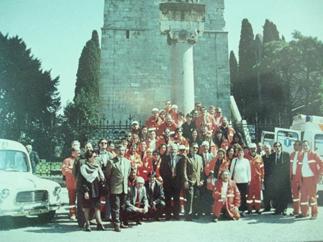 Immagine della fondazione della Croce Verde